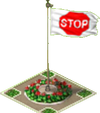 Stop Sign Flag