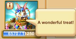 Easter Bunny Speech Balloon 1