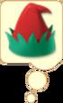 Elf Hat Bubble