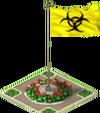 Chemical Hazard Flag