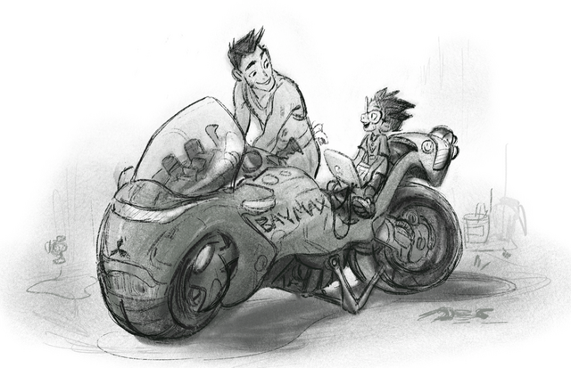 File:Baymax motorcycle-concept.png