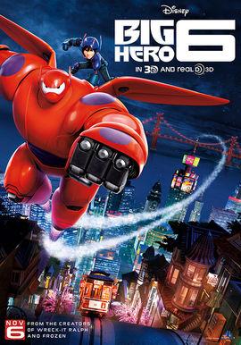 Big Hero 6 film poster