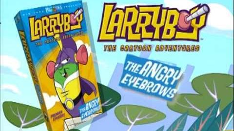 Larryboy 1 The Angry Eyebrows Trailer