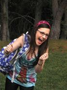 Erin as Quinn!