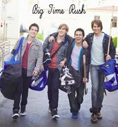 Big Time Rush album cover created by Me