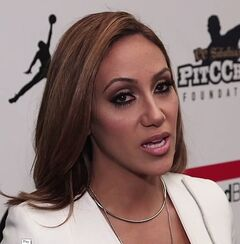 Melissa Gorga at New York Fashion Week 2016