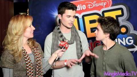 "Spencer Boldman & Billy Unger at Radio Disney's Season 4 ""N.B.T"