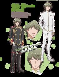 Ibushi Arima Official Character Profile