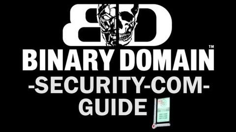 Binary Domain - All SECURITY-COM Locations