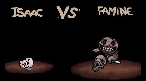 "The Binding of Isaac Rebirth ""Famine"" boss"