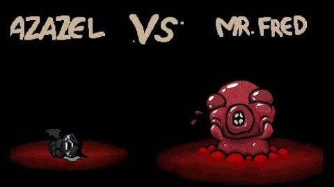 "The Binding of Isaac Rebirth ""Mr. Fred"" boss"