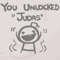 The secret appearing when unlocking Judas.
