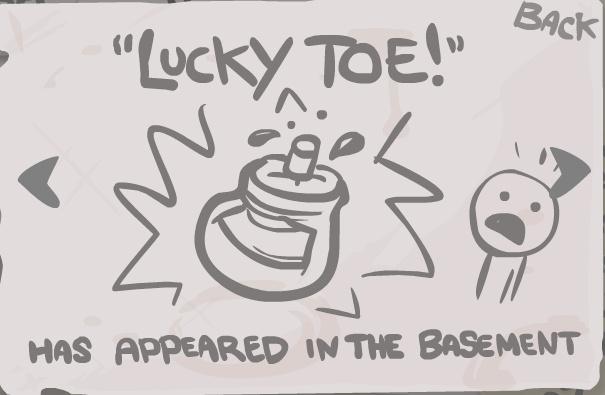 Lucky Toe -secret-
