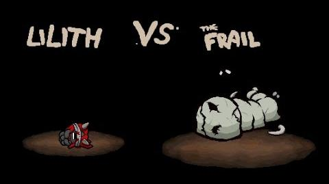 "The Binding of Isaac Afterbirth ""The Frail"" boss fight"