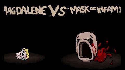 "Binding of Isaac Rebirth ""Mask of Infamy"" boss"