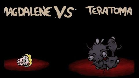 "The Binding of Isaac Rebirth ""Teratoma"" boss fight"