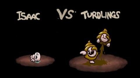 "The Binding of Isaac Afterbirth ""Turdlings"" boss fight"
