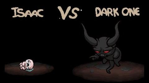 """The Binding of Isaac Rebirth """"Dark one"""" boss"""