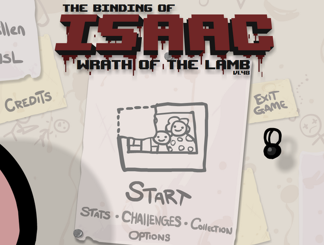 File:The binding of isaac title screen.png