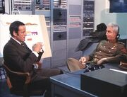 Doomsday, and Counting - Oscar Goldman and General Koslenko