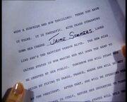 Lady reporter script