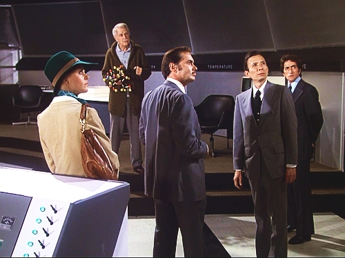 File:Doomsday Is Tomorrow - Dr. Elijah meeting four scientists.jpg