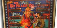 The Six Million Dollar Man pinball machine