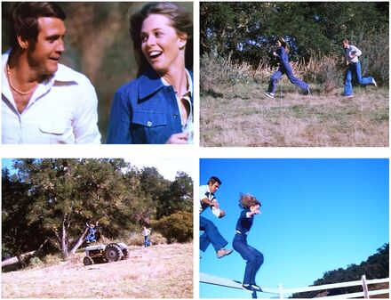 The Bionic Woman (Part II) - Running Sequence