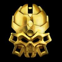 Skull-golden-mask