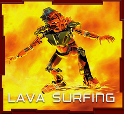 Lava Surfing Game