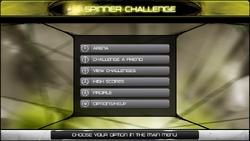 Rhotuka Spinner Challenge Main Screen