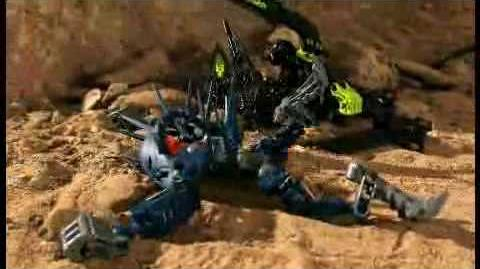 BIONICLE Battle Video Golden Armor Recovered