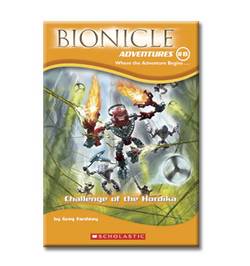 Bionicle Adventures -8 US Edition bright