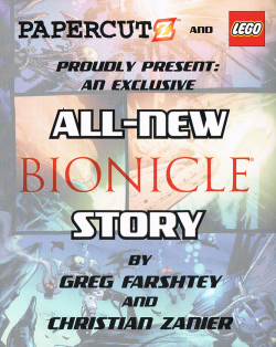 Hydraxon's Tale in Bionicle Graphic Novel -6