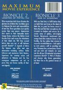 Bionicle 2 and 3 double pack back cover