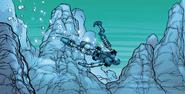 Comic-Gali Swimming