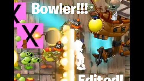 Coconut Bowler in Zomboss Battle Plants vs. Zombies 2 Beach World