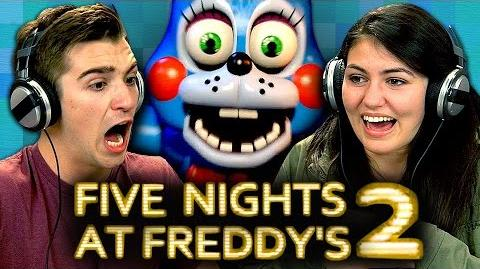 FIVE NIGHTS AT FREDDY'S 2 (Teens React Gaming)