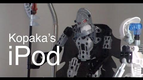 Kopaka's iPod - A BCC Stopmotion Comedy