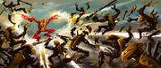 Art Tahu Using the Golden Armor