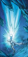 Matoro using ice power
