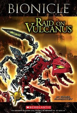 BIONICLE- Raid on Vulcanus Cover