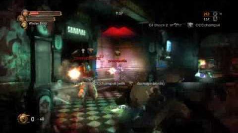 Bioshock 2 Turf Wars Multiplayer Gameplay