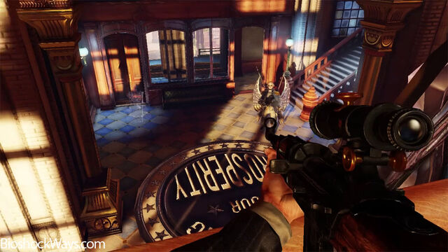 File:Bioshock infinite semi auto rifle vs motorized patriot.jpg