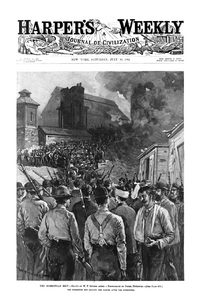Homestead Riot newspaper cover
