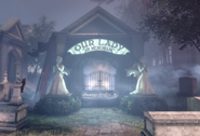 BioShock Infinite - Downtown Emporia - Memorial Gardens - Lady Comstock Tomb f0820