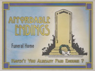 Affordable Endings Sign