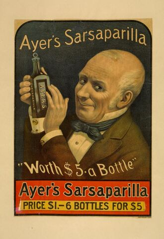 File:Ayer's Sarsaparilla Ad.jpeg