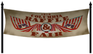 Raffle and Fair Banner