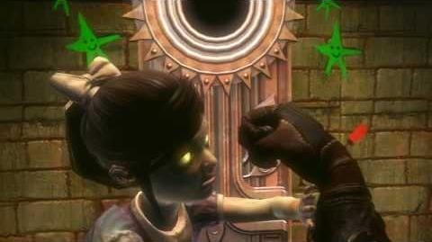 Bioshock 2 Harvesting a Little Sister